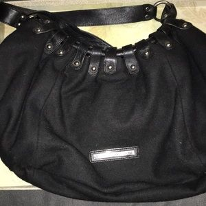 Black BCBG purse